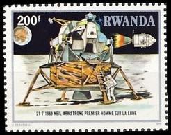 968**(BL 84) - 10e Anniversaire De La Conquète De La Lune / 10e Verjaring Van De Maanverkenning - RWANDA - 1980-89: Neufs