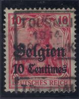 ONBEKEND / INCONNU BEZETTING Nr. BZ 3 / OC3 Met Voorafstempeling TOURNAI 1914 DOORNIJK Positie C ; Staat Zie Scan ! - Roulettes 1910-19