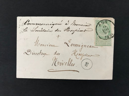Briefomslag OBP 56 ANS - 1893-1907 Armoiries