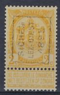 RIJKSWAPEN Nr. 54 Voorafgestempeld Nr. 33 Positie A   SICHEM - LEZ - DIEST 1895 In Zéér Goede Staat ; Zie Ook Scan ! - Roulettes 1894-99