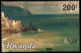 985** (BL85) - 20e Exposition Philatélique De Naples / 20e Postzegeltentoonstelling Van Napels - RWANDA - 1980-89: Neufs