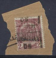 Wapenschild Nr. 55 Op Fragment Voorafgestempeld Nr. 709 C BRUXELLES 05 ; Staat Zie Scan  ! - Roulettes 1900-09
