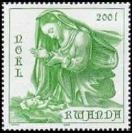 1226** (BL98) - Noël / Kerstmis / Weihnachten / Christmas - 1984 - RWANDA - 1980-89: Neufs