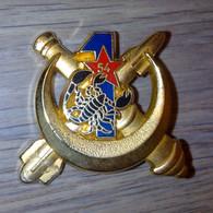 Insigne 1° Batterie Du 54° Régiment D'Artillerie - Scorpion Noir - Hueste