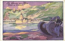 Joe Bridge La Garde Du Rhin Char De Combat Caub La Pfalz Et Le Chateau Gubenfels   RV - Otros
