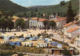 07 SAINT CIRGUES EN MONTAGNE Le Camping Et La Place - BE - Andere Gemeenten