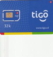 Congo (Kinshasa) - Tigo 32k - GSM SIM - Mint - Congo