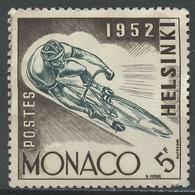 JO Helsinki - Monaco 1953 Y&T N°389 - Michel N°461 Nsg - 5f Cyclisme - Sommer 1952: Helsinki