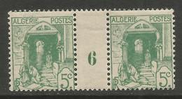 Algérie 075 1926 N°37 Millésime - Ungebraucht