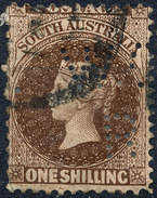 Stamp SOUTH AUSTRALIA Queen Victoria 1sh Used Lot#3 - Usados