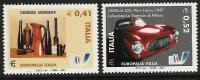 "2003 Italien Mi. 2927-8  **MNH Europäisches Kulturfestival ""Europalia 2003 Italien"", Brüssel - Europese Gedachte"