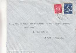 Portugal - Lettre De 1946 ? - Oblit Lisboa - Banque - - Covers & Documents
