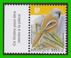 BUZIN - 4858** Panure à Moustaches / Baardmannetje - 1985-.. Pájaros (Buzin)