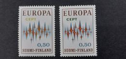 FINLANDE EUROPA VARIETES  NEUFS XX.SUPERBES.¹ - Abarten Und Kuriositäten