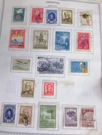 A) 1967, ARGENTINA, INTERNATIONAL YEAR OF TOURISM, JOSE HERNANDEZ, SAN MARTIN, BROWN, CHILD PROTECTION PADELAI, CENTENAR - Cartas