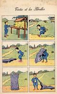 TINTIN Et Les Abeilles   PUB PHOSPHO-CACAO   PARIS.  RARE - Fumetti