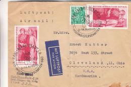 Allemagne - République Démocratique - Lettre De 1960 - Oblit Karl Marx Stadt - Cyclisme - Championnat Du Monde - Cartas