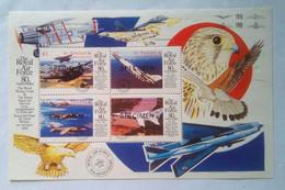 Royal Air Force 80th Anniversary Specimen S/S - St.Vincent & Grenadines