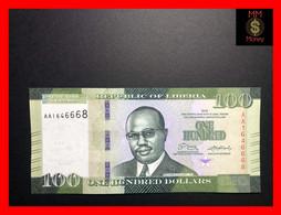 LIBERIA 100 $  2016  P. 35  UNC - Liberia