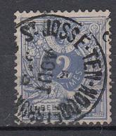 BELGIË - OBP - 1869/83 - Nr 27 - T0 (St JOSSE-TEN-NOODE (BRUX?)) - Coba + 1.50 € - 1869-1888 Lying Lion