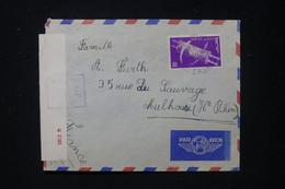 ISRAËL - Enveloppe De Affula Pour La France En 1951 Avec Contrôle Postal - L 89704 - Lettres & Documents