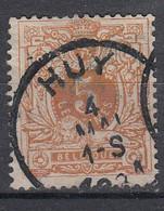BELGIË - OBP - 1869/83 - Nr 28 - T0 (HUY) - Coba + 1 € - 1869-1888 Lying Lion