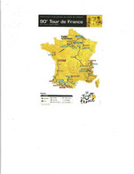 90ème Tour De France 2003 Carte Dynapostverso BT 18ème étape BORDEAUX-SAINT-MAIXENT 25/7/2003  -  (222) - Wielrennen