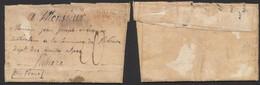 Armée De Napoléon - L. Datée De Figueras 16/11/1811 + ARM. DE CATALOGNE / PLACE DE FIGUERAS > Ribière - Army Postmarks (before 1900)