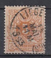 BELGIË - OBP - 1869/83 - Nr 28 - T0 (LIEGE(GUILLEMINS?) - Coba + 1.50 € - 1869-1888 Lying Lion