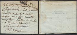 Armée De Napoléon - L. Datée De Saumur 27 Pluviose An 2 + 1E DIV. / ARMEE DE L OUEST > Tours - Army Postmarks (before 1900)