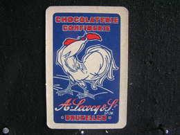 Playing Cards /Carte A Jouer/1 Dos De Cartes,Inscription  Publicitaire/Chocolaterie Confiserie, A.Lecocq & S - Bruxelles - Unclassified