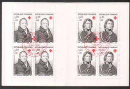 Carnet Croix Rouge 1964, Obliterations 1er Jour De Dricourt ( Ardennes) Et Beaudean ( Htes Pyr) - Red Cross