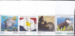 Caribisch Nederland 2016, Postfris MNH, Flag, Fish, Bird, Columbus - Niederländische Antillen, Curaçao, Aruba