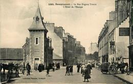 Douarnenez * La Rue Duguay Trouin * Hôtel De L'europe * Bureau De L'octroi * Attelage - Douarnenez