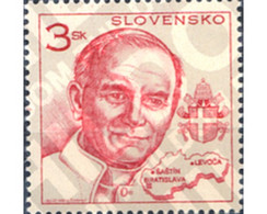 Ref. 156512 * MNH * - SLOVAKIA. 1995. VISIT OF JOHN PAUL II . VISITA DE JUAN PABLO II - Nuevos