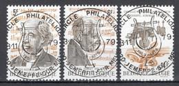 BELGIE: COB 1951/1953  Mooi Gestempeld. - Usados