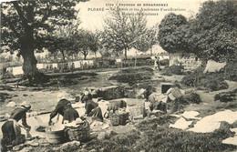 Douarnenez * Ploaré * Lavoir Laveuses * Manoir De Coataner - Douarnenez