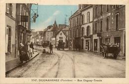 Douarnenez * La Rue Duguay Trouin * Hôtel De L'europe - Douarnenez