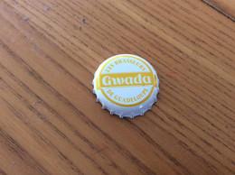"""Capsule De Bière *x """"GWADA"""" (Les Brasseurs De Guadeloupe, Caraïbe) Cp - Bier"""