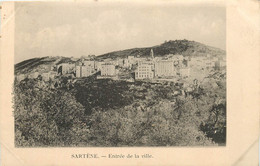 CORSE SARTENE ENTREE DE LA VILLE - Sartene