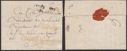 Armée De Napoléon - L. Datée (1794) + ARMEE DES PYRENEES ORIENTALES / Signature Sous Lieutenant, Chasseurs De La Moselle - Army Postmarks (before 1900)