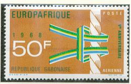 GABUN 1968, 5 Jahre Europäisch-Afrikanische Wirtschaftsorganisation EUROPAFRIQUE - Gabon (1960-...)