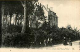 Douarnenez * Route Et Colonie Scolaire Des Quatre Vents * Villageois - Douarnenez