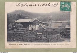 Commune De BRAS D'ASSE  Domaine De La Chapelle Bureau Habitation Ferme - Otros Municipios