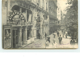 PARIS II -Le Théâtre Parisiana, Boulevard Poissionnière (Kinéphone) - District 02