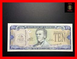LIBERIA 10 $  2011  P. 27  UNC - Liberia