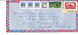 Canada (1982) - Aerogramma Per La Francia - Cartas