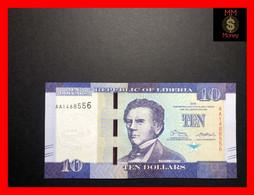 LIBERIA  10 $  2016  P. 32   UNC - Liberia