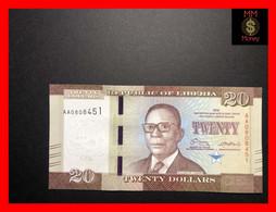 LIBERIA  20 $  2016  P. 33   UNC - Liberia