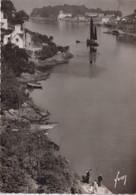 29 DOUARNENEZ Estuaire De Poul-David ; Chalutier, Canot - Animée - Douarnenez